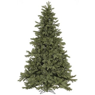 Vickerman Green PVC 7.5-foot Frasier Fir Artificial Unlit Christmas Tree