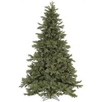 Vickerman Green PVC 7.5-foot Frasier Fir Artificial Unlit Christmas Tree
