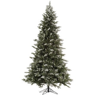 Vickerman Frosted Balsam Fir Artificial Unlit Christmas Tree