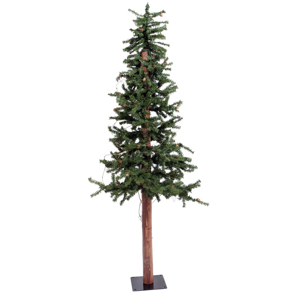 Vickerman Alpine 6-foot Unlit Artificial Christmas Tree (...
