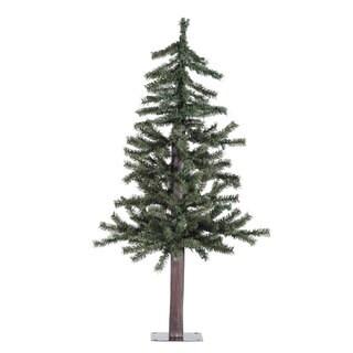 Vickerman Natural Alpine 3-foot Unlit Artificial Christmas Tree