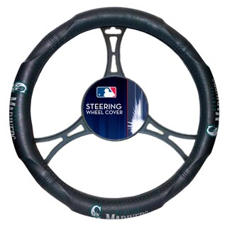 The Northwest Company 605 MLB Seattle Mariners Car Steering Wheel Cover