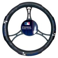 The Northwest Company MLB 605 Los Angeles Dodgers Car Steering Wheel Cover