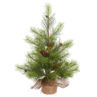 Vickerman White Pine 30-inch Unlit Artificial Christmas Tree