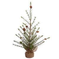 Vickerman Missoula Pine 24-inch Unlit Artificial Christmas Tree