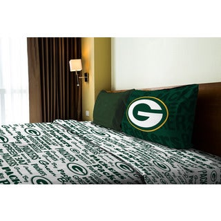 NFL 820 Packers Anthem Twin Sheet Set