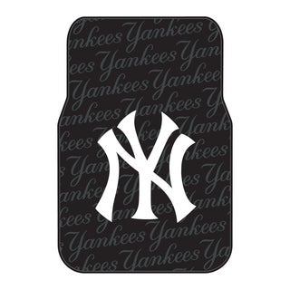 The Northwest Company MLB 343 Yankees Car Front Floor Mats (Set of 2)