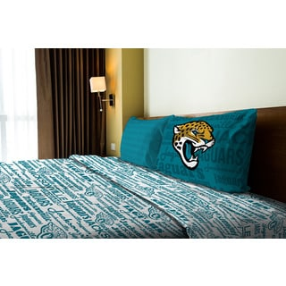 NFL 820 Jaguars Anthem Twin Sheet Set