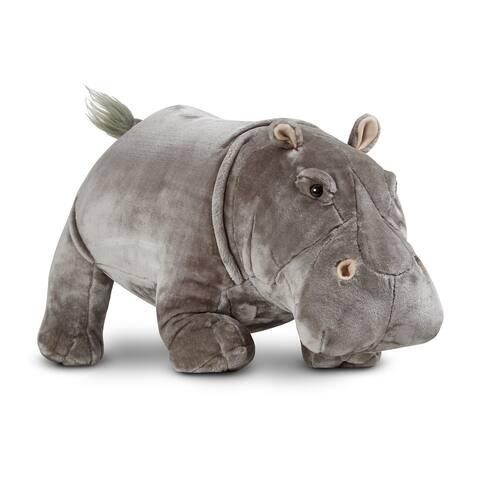 Melissa & Doug Hippopotamus - grey