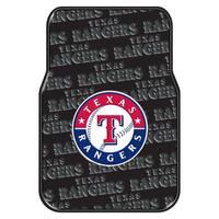 The Northwest Company MLB 343 Rangers Car Front Floor Mat Set