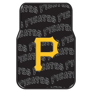The Northwest Company MLB 343 Pirates Rubber Car Front Floor Mat