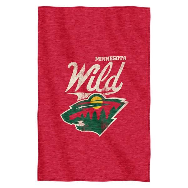 NHL 100 Wild Sweatshirt Throw