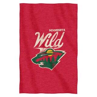 NHL 100 Capitals Sweatshirt Throw