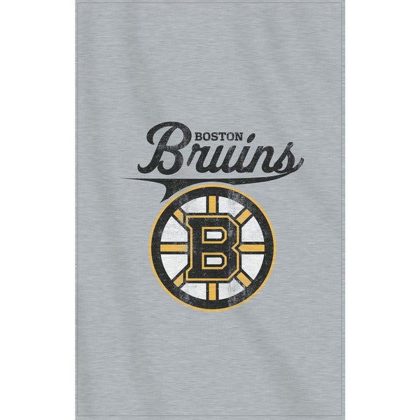 NHL 100 Bruins Sweatshirt Throw