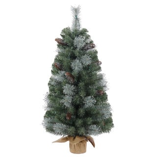 Tacoma Pine 3 Ft Artificial Christmas Tree Free Shipping