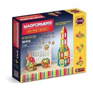 Magformers My First Plastic 30-piece Building Set