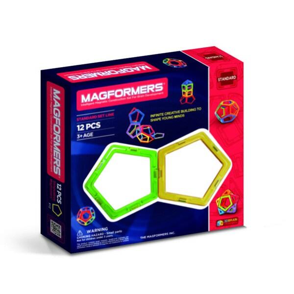Magformers Pentagon 12-piece Magnet Set
