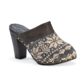 Muk Luks Women's 'Kameryn' Brown/Beige Faux Fur/Polyester/Polyurethane Shoes