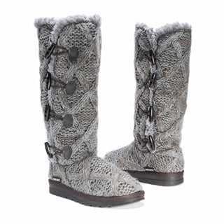 Link to Muk Luks Women's Felicity Grey Polyester/Faux-fur Boots Similar Items in Women's Shoes