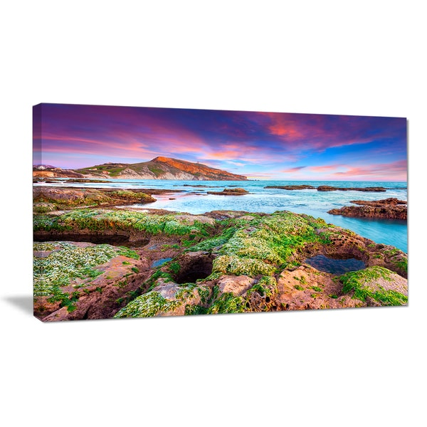Giallonardo Beach Spring Sunset - Seashore Wall Art