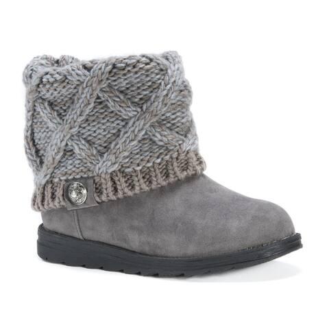 MUK LUKS® Women's Patti Brown Boots