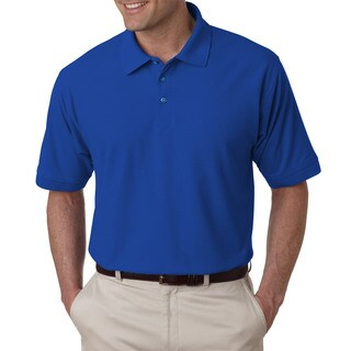 Tall Whisper Men's Royal Blue Pique Polo Shirt (2 options available)