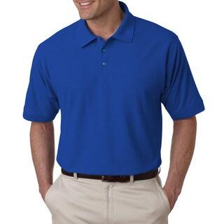 Tall Whisper Men's Royal Blue Pique Polo Shirt