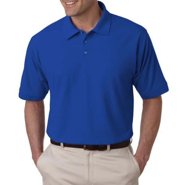 bruciato Antagonismo bene  Shop Tall Whisper Men's Royal Blue Pique Polo Shirt - Overstock - 12112699