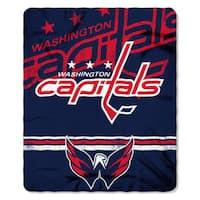 NHL 031 Capitals Fade Away Fleece Throw
