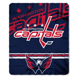 NHL 031 Capitals Fade Away Fleece Throw