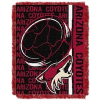 The Northwest Company NHL 019 Coyotes Double Play Throw