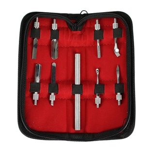 Stainless Steel 4-inch 9-piece Pusher Set