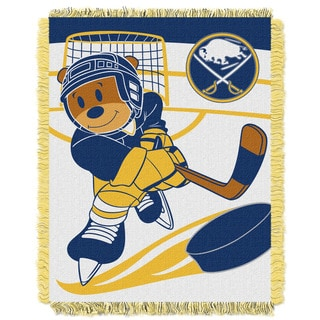 NHL 044 Sabres Baby Throw