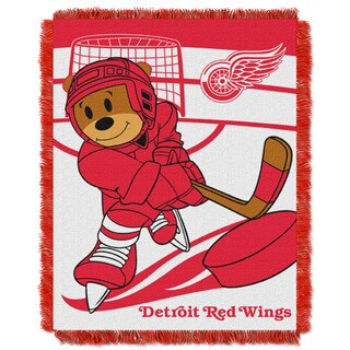 NHL 044 Redwings Baby Throw