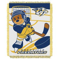 NHL 044 Predators Baby Throw