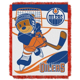 NHL 044 Oilers Baby Throw