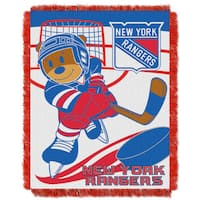 NHL 044 Rangers Baby Throw