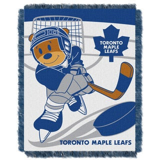 NHL 044 Maple Leafs Baby Throw
