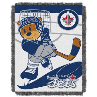 NHL 044 Jets Baby Throw