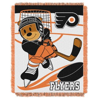 NHL 044 Flyers Baby Throw