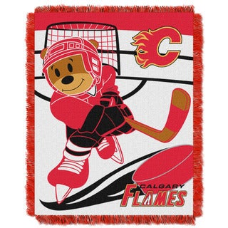 NHL 044 Flames Baby Throw