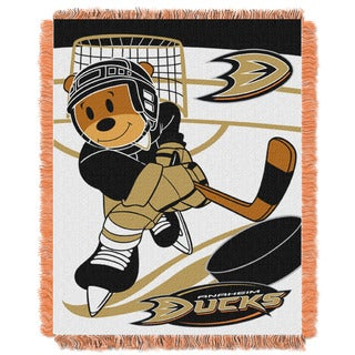 NHL 044 Ducks Baby Throw