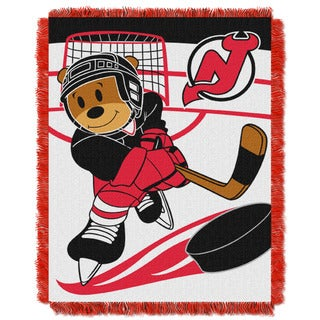 NHL 044 Devils Baby Throw