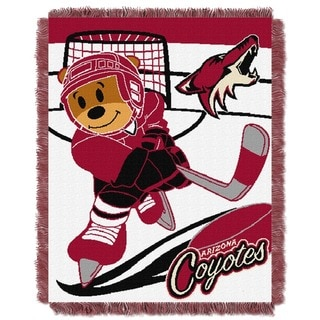NHL 044 Coyotes Baby Throw
