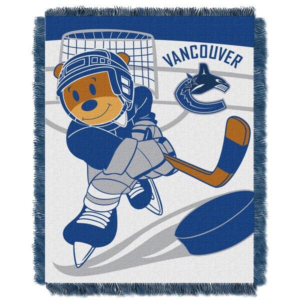 NHL 044 Canucks Baby Throw