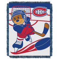 NHL 044 Canadiens Baby Throw