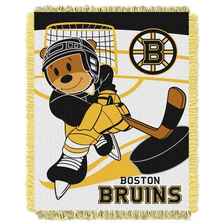 NHL 044 Bruins Baby Throw