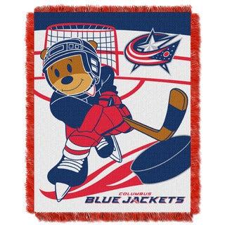 NHL 044 Blue Jackets Baby Throw