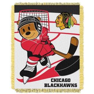 NHL 044 Blackhawks Baby Throw