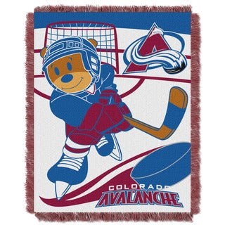 NHL 044 Avalanche Baby Throw